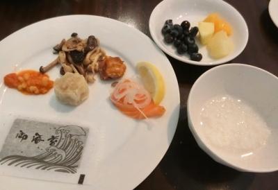 グランドハイアット東京「The French Kitchen フレンチキッチン」朝食ブッフェ 和食 おかゆ