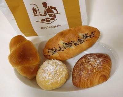 目黒 パン「gentille ジャンティーユ」パン バターロール