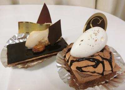 京橋「HIDEMI SUGINO イデミスギノ」チョコレートケーキ
