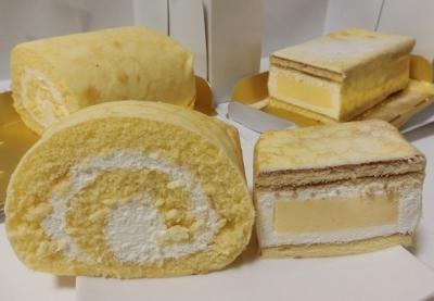 「ドゥリエール」プリンロール ロールケーキ