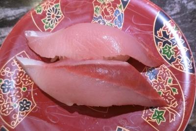 東急プラザ銀座 回転寿司 根室花まる 黒瀬ぶり