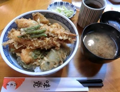 六本木「てんぷら味覚」天丼