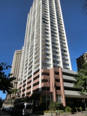 ハワイ AQUA PACIFIC MONARCH アクアパシフィックモナーク 建物外観