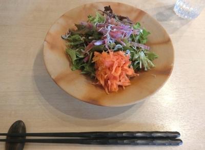 麻布十番「嘉 YOSHI」ランチサラダ