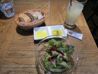 麻布十番「Le Bar a Vin 52 ルバーラヴァンサンカン」by 成城石井 ランチサラダ