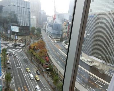 銀座「Nori Ginza ノリ ギンザ」眺望