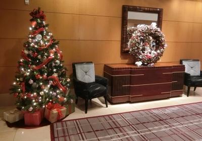 リッツカールトン東京 クリスマスツリー 2017