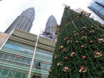 マレーシア クアラルンプールのクリスマスイルミネーション 2017 スリアKLCC