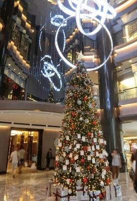 マレーシア クアラルンプールのクリスマスイルミネーション 2017 スタヒルギャラリー