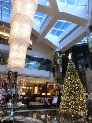 マレーシア クアラルンプールのクリスマスイルミネーション 2017 グランドミレニアムホテル