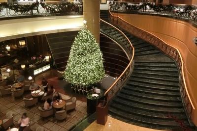 マレーシア クアラルンプールのクリスマスイルミネーション 2017 マンダリンオリエンタルホテル
