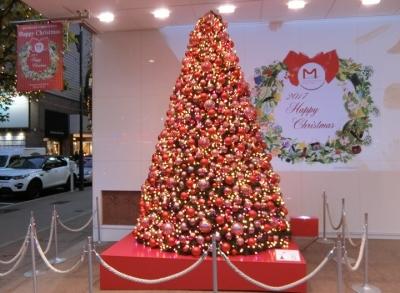 銀座クリスマスイルミネーション2017 マロニエゲート