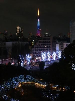 六本木ヒルズから東京タワー レインボーカラーハート