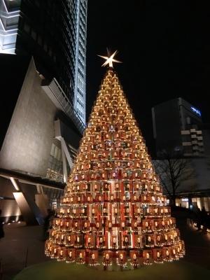 六本木ヒルズ クリスマスツリー イルミネーション 2017