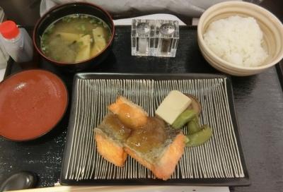 マレーシア航空 ビジネスクラス成田〜クアラルンプール 機内食 和食