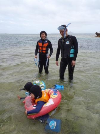 沖縄家族旅行で楽しむシュノーケリングツアー