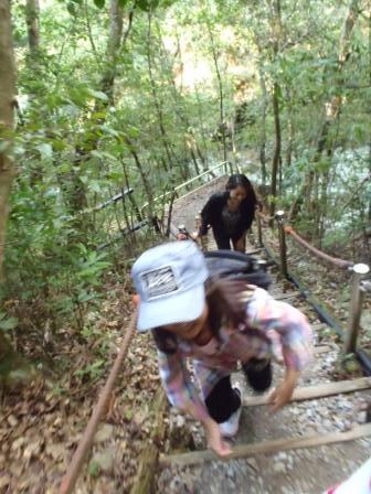 比地大滝トレッキングツアー