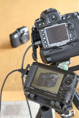 EPSON P-7000ライブビュー