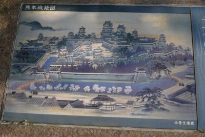 熊本城絵図