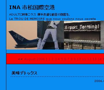 INA 市松国際空港