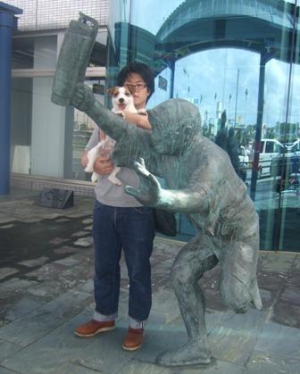 徳島空港玄関です。