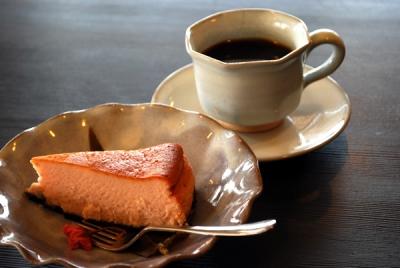 桜のチーズケーキ