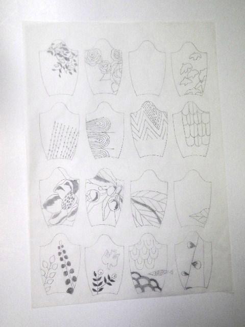 刺繍図案デザイン