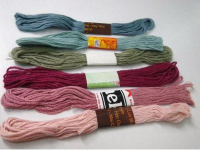 ベトナムの刺繍糸