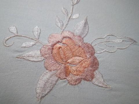 無料 刺繍図案 薔薇