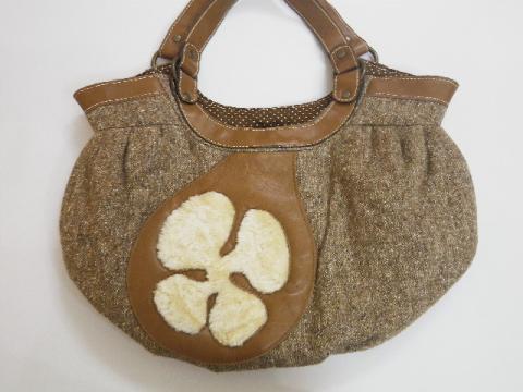 ツィードバッグ