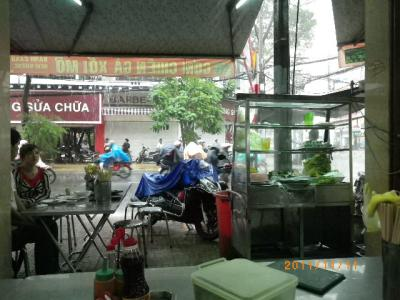 雨のベトナム