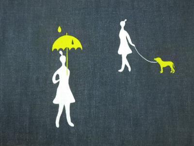 女の子の刺繍