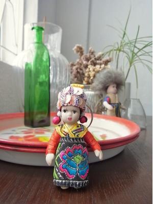 少数民俗人形、ベトナム