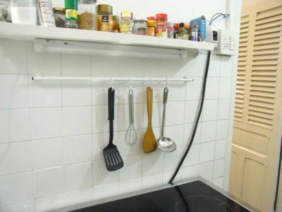 キッチン小物掛け