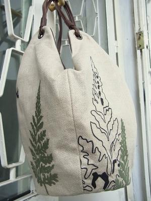 桧の森刺繍