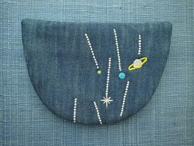 刺繍、土星