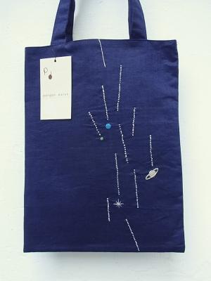 刺繍、銀糸