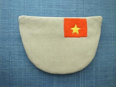 刺繍、国旗