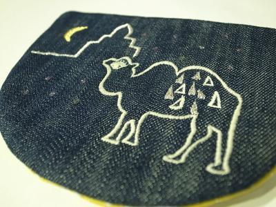 ラクダ刺繍