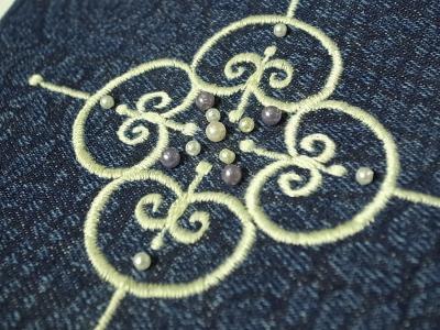 1点もの刺繍