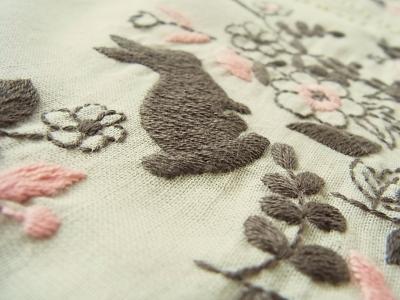 刺繍ふろしき
