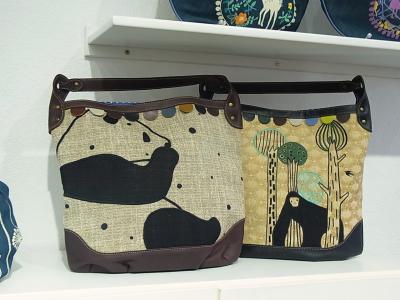 パンダ刺繍ショルダーバッグ