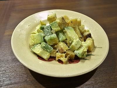 アボガド焼き芋サラダ