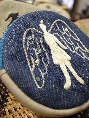 天使のソランちゃん刺繍