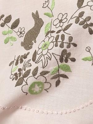 刺繍スカーフ