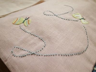 刺繍A4トート