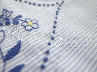 『うさぎガーデン刺繍』アップリケ