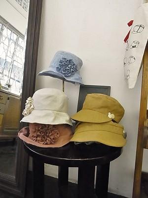 お洒落な『SHOKOショウコ』の帽子