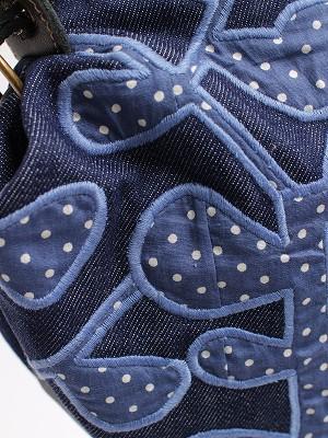 『木漏れ日刺繍』ショルダーバッグ