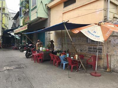 ベトナムの屋台